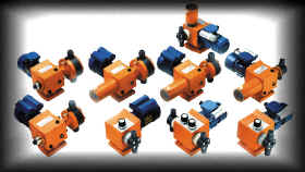 Series of electromechanical dosage pumps